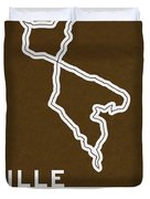 Legendary Races - 1927 Mille Miglia Duvet Cover