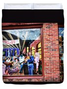 Legends Bar In Downtown Nashville Duvet Cover
