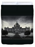 Legislature Building British Columbia Victoria Duvet Cover