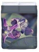 Lei Pua Kalaunu - Crown Flower - Calotropis Gigantea Duvet Cover