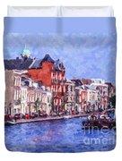 Leiden Canal Duvet Cover