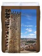 Leiria Castle Duvet Cover