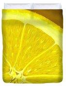 Lemon Duvet Cover by Anastasiya Malakhova