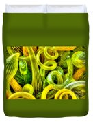 Lemon And Lime Duvet Cover
