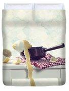 Lemon Duvet Cover by Joana Kruse