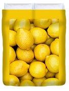 Lemons 02 Duvet Cover