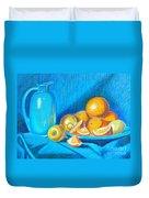 Lemons And Oranges Duvet Cover
