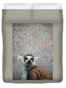 Lemur Duvet Cover by James W Johnson