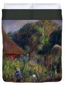 Lenna By A Summer House Duvet Cover by William James Glackens