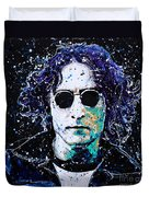 Lennon Duvet Cover by Chris Mackie