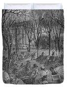 Lenox, Massachusetts, From Historical Collections Of Massachusetts, John Warner Barber, Engraved Duvet Cover