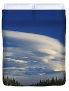 Lenticular Cloud Duvet Cover