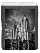 Leon Cathedral Duvet Cover