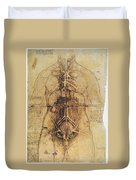 Leonardo: Anatomy, C1510 Duvet Cover