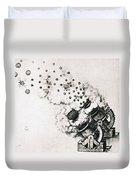 Leonardo: Cannon Duvet Cover