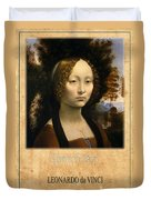 Leonardo Da Vinci 2 Duvet Cover
