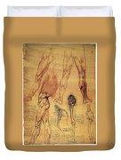 Leonardo: Legs, C1508 Duvet Cover