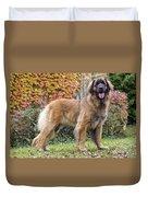 Leonberger Dog Duvet Cover