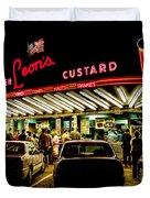 Leon's Frozen Custard Duvet Cover