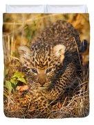Leopard Cub Duvet Cover