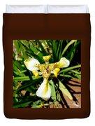 Leopard Orchid Duvet Cover
