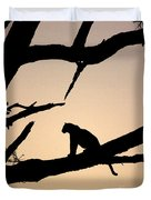 Leopard Sitting In A Tree Duvet Cover