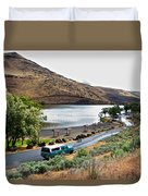 Lepage Rv Park On Columbia River-or Duvet Cover