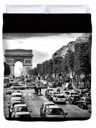 Les Champs Elysees  Duvet Cover