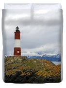 Les Eclaireurs Lighthouse Southern Patagonia Duvet Cover