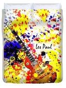 Les Paul Retro Duvet Cover
