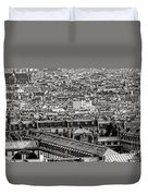 Les Toits De Paris Duvet Cover