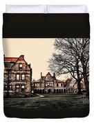 Lesley University-cambridge Boston Duvet Cover