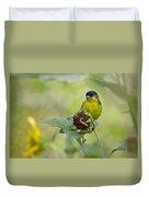 Lesser Goldfinch  Duvet Cover