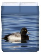 Lesser Scaup Duvet Cover