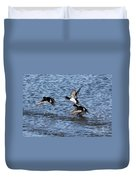 Lesser Scaup Ducks Duvet Cover