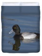 Lesser Scaup Male Duvet Cover