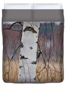 Lesser Spotted Woodpecker Duvet Cover