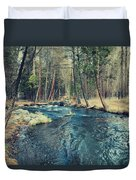 Let It All Go Duvet Cover by Laurie Search