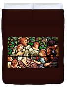 Let The Children Come To Me Duvet Cover