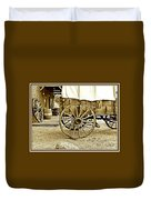 Let The Old Times Roll Duvet Cover
