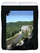 Letchworth State Park Genesee River I Duvet Cover