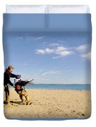 Let's Go Fly A Kite Duvet Cover