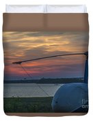 Lets Go Flying Duvet Cover