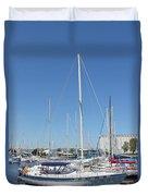Sailboat Series 02 Duvet Cover