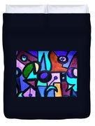 Let's Play A Game Duvet Cover