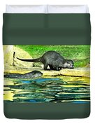 Lets Play And Swim Duvet Cover