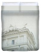 Letters From Roma II Duvet Cover