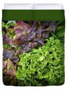 Lettuce Medley Duvet Cover