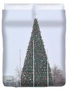 Levis Commons Christmas Tree Duvet Cover by Jack Schultz