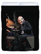 Levon Helm And His All Star Band Duvet Cover